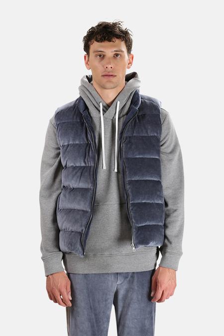 Wheelers V Reversible Puffer Vest - Midnight