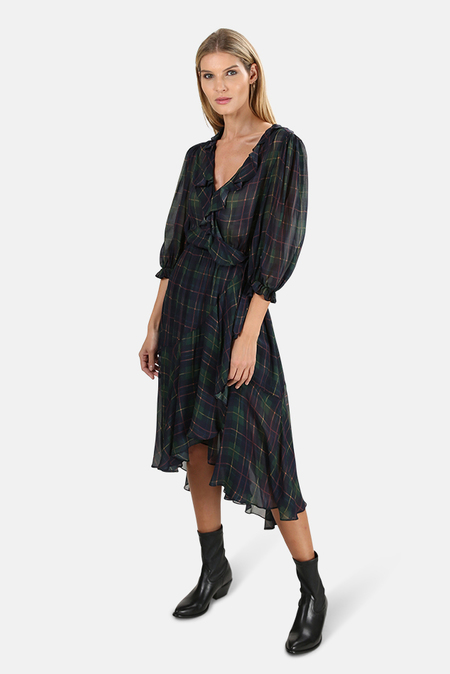 ICONS The Flamenco Dress - Classic Tartan