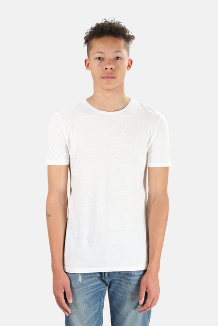 V::ROOM Crew Vintage Basic T-Shirt - Natural