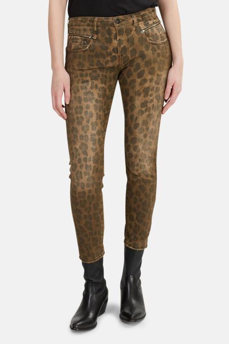 R13 Biker Boy Jeans - Leopard