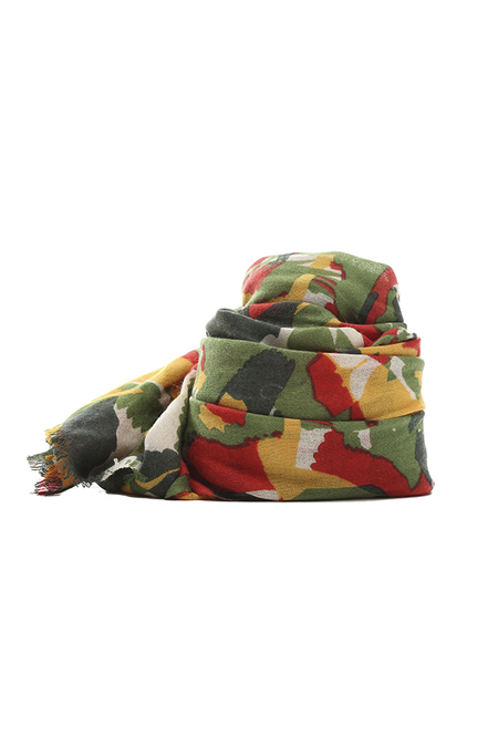 We Are Owls Kaleidoscope Scarf - Green