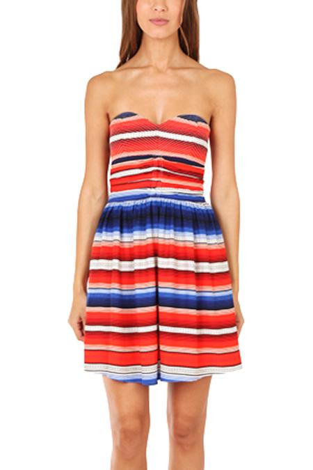 Parker NY Melrose Dress - Santa Fe