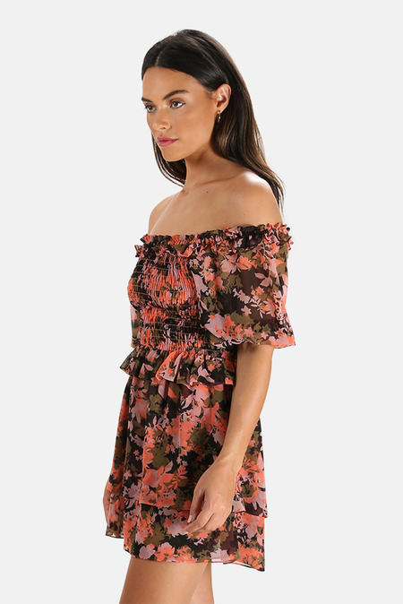 MISA Los Angeles Cela Dress - Pink Floral