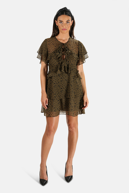 MISA Los Angeles Ignacia Dress - Olive