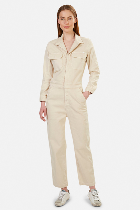 Mother Denim The Fixer Jumpsuit - Birch