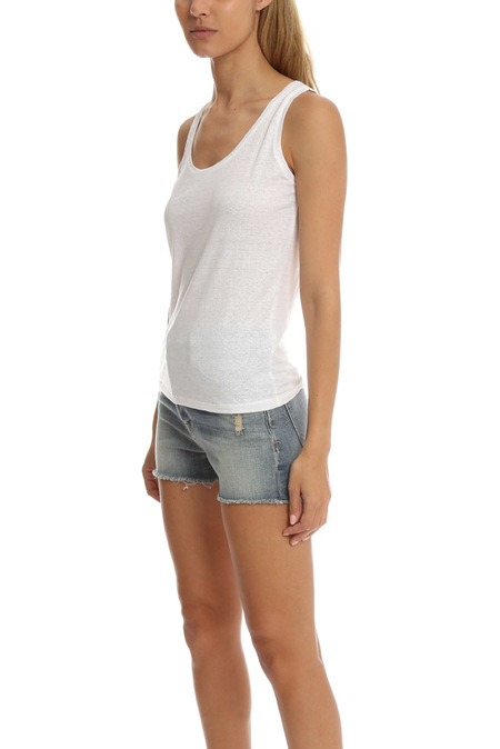 Majestic Filatures Basic Tank Top - Blanc