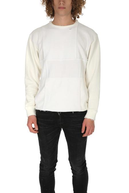 Long Journey Nash Champion Sweatshirt - White Patchwork