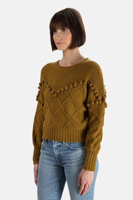 NSF Kaaya Pullover Sweater - Ochre