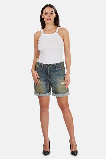Alexander Wang Denim Shorts - Vintage