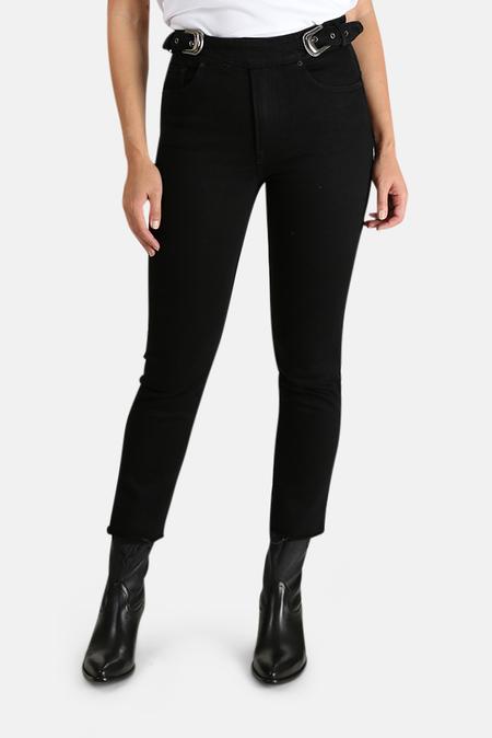GRLFRND Zoey Belted Jeans - Both Sides