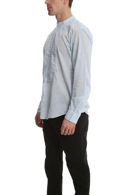 Massmio Alba Priest Collared Shirt - Sky Blue