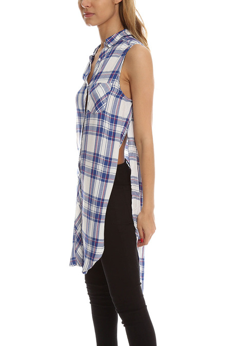 Rails Jordyn Button Down - White/Blue/Raspberry