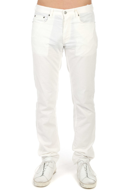 Massimo Alba Alunga Pants - White