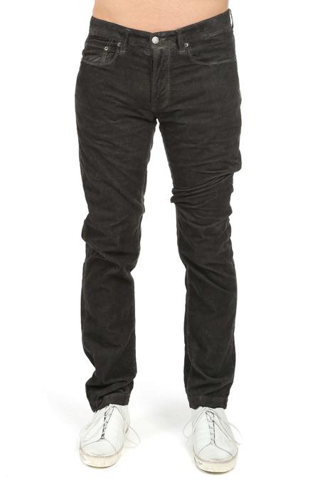 Massimo Alba Alunga Pants - Washed Black