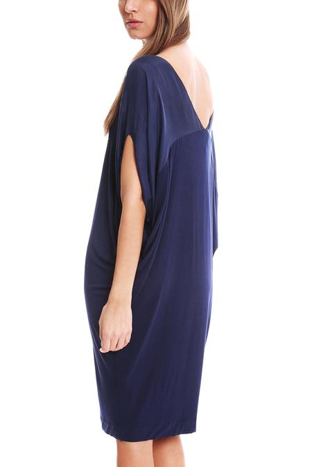 By Malene Birger Amalinda V Neck Dress - Indigo