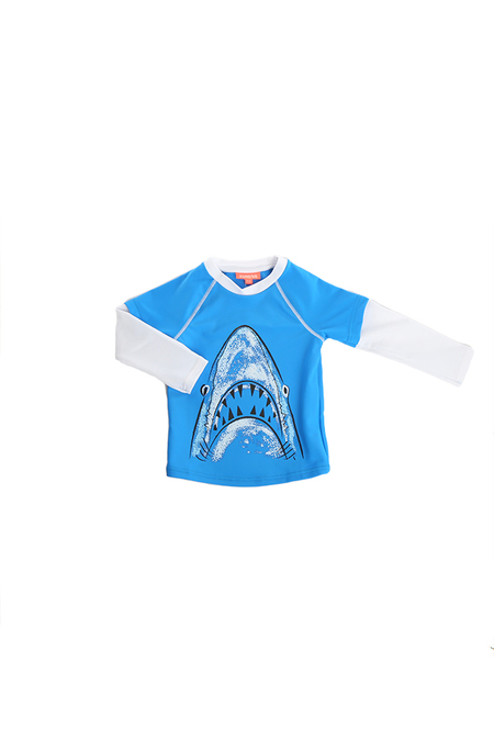 Kids Sunuva UPF 50+ Rash Guard  - Blue