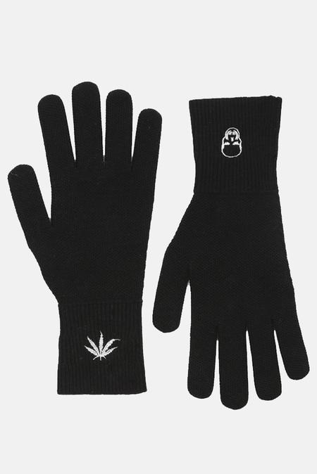Lucien Pellat-Finet Honeycomb Gloves - Black