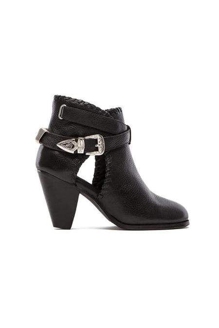 Madison Harding Olivia Boot Shoes - Black
