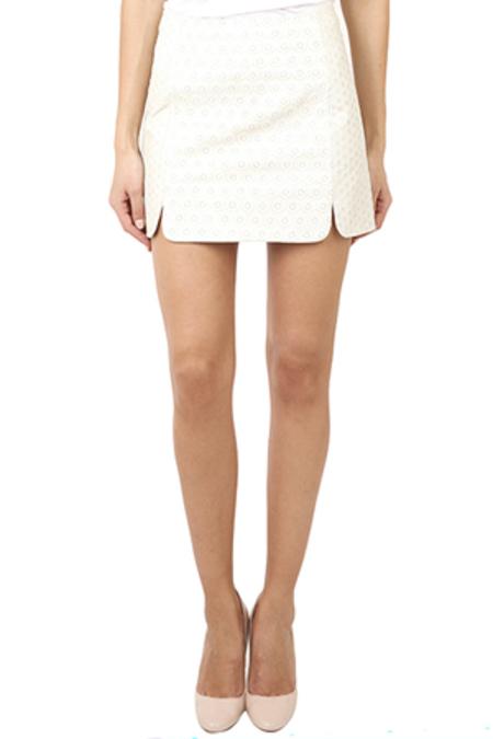 Rag & Bone Stella Skirt - White