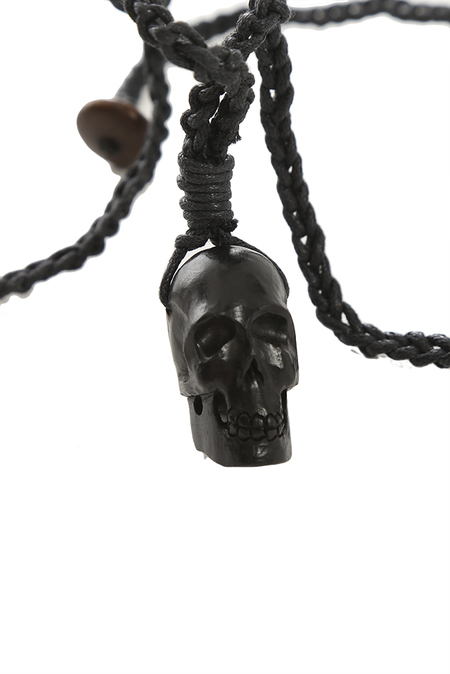 Totem Of The Undead Necklace - Black