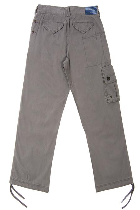 Trovata Military Pants - Slate/Grey