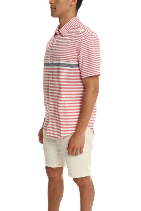 Riviera Club Mutu Polo - Red Stripe