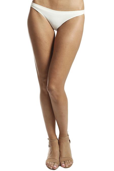 Solid & Striped The Elise Bottom Swimwear - Cream Pique