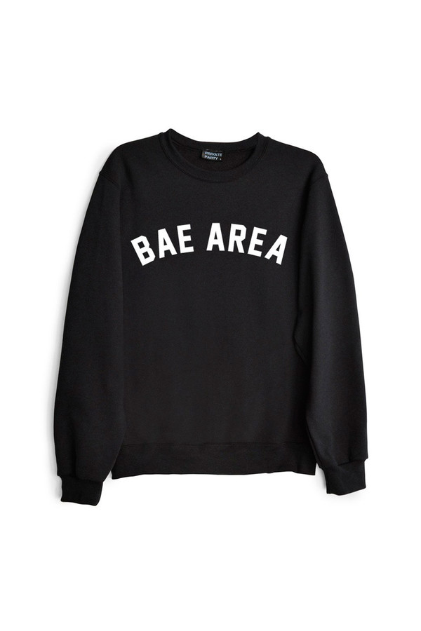 Unisex PRIVATE PARTY Bae Area Sweatshirt