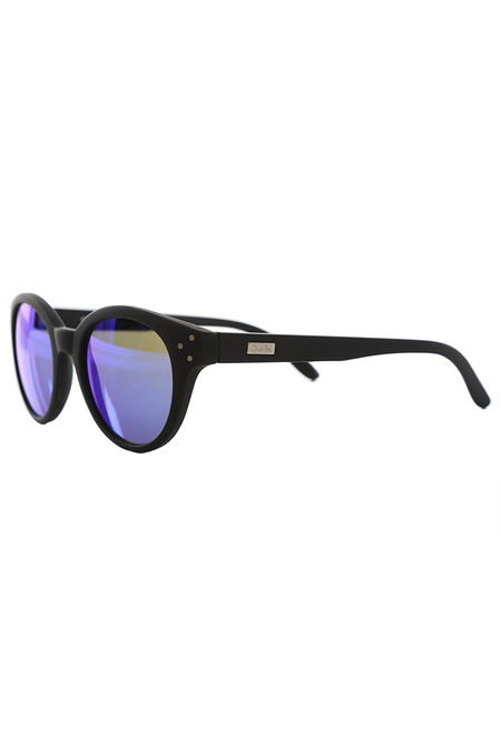 Spektre Vitesse Blue Mirror Sunglasses -  Black