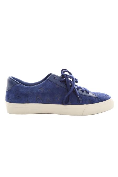 Lucien Pellat-Finet Monogram Low Sneaker Shoes - Neon Blue