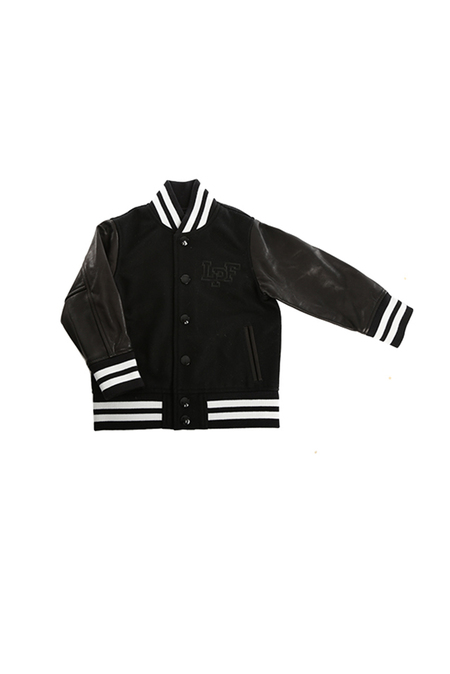 Kids Lucien Pellat-Finet Skull Jacket - Black