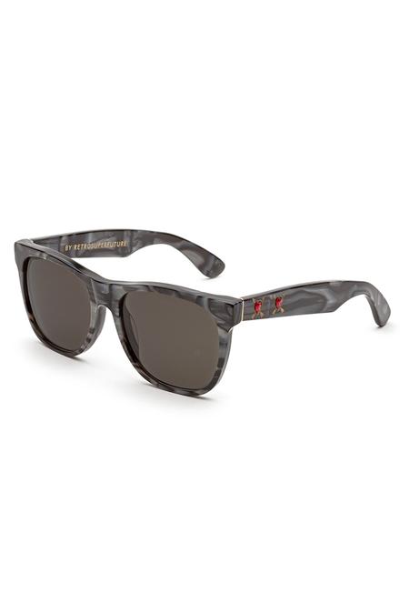 RetroSuperFuture Classic Core Pazzo Sunglasses - Grey