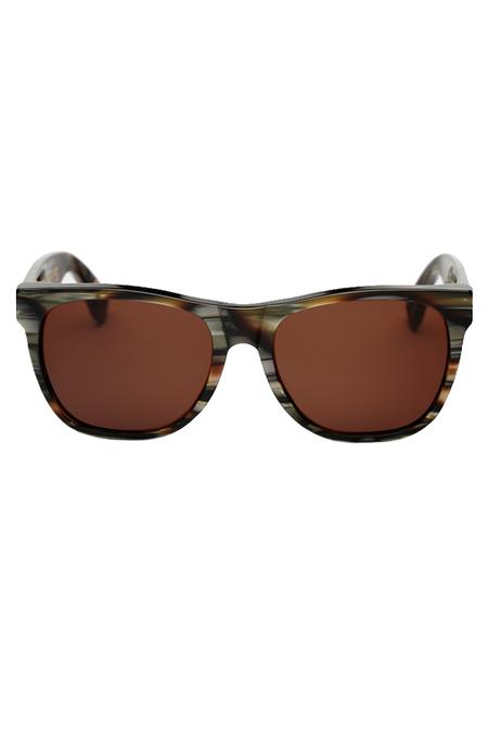 RetroSuperFuture Classic Sunglasses - Acqua Santa