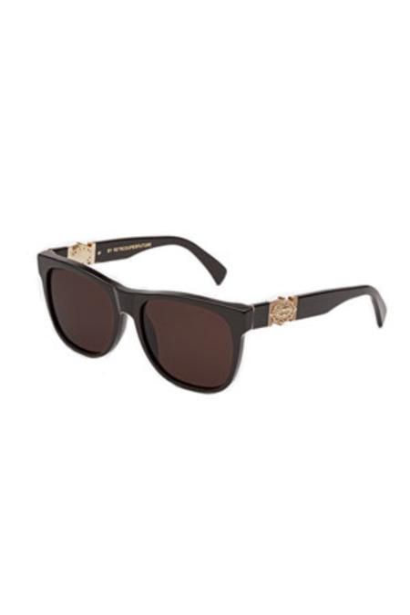RETROSUPERFUTURE Classic Ex-Voto Sunglasses - Black/Brown