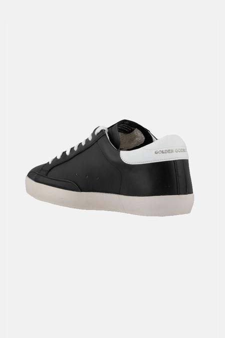 Golden Goose Men's Superstar Sneaker Shoes - Black/White