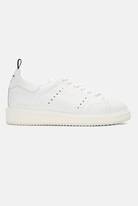 Golden Goose Starter Sneaker Shoes - White