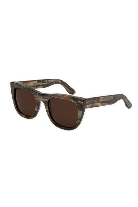 RETROSUPERFUTURE Gals Acqua Santa Sunglasses - Brown