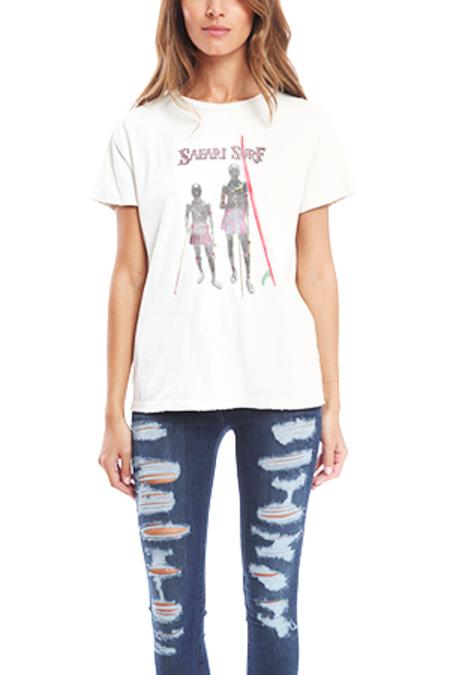 Remi Relief Safari Surf Classic T-Shirt - Off White