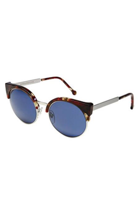 RETROSUPERFUTURE Lucia Havana Sunglasses - Red/Blue