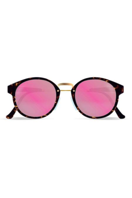 RETROSUPERFUTURE Panama Sunglasses - Burnt havana/Gold metal