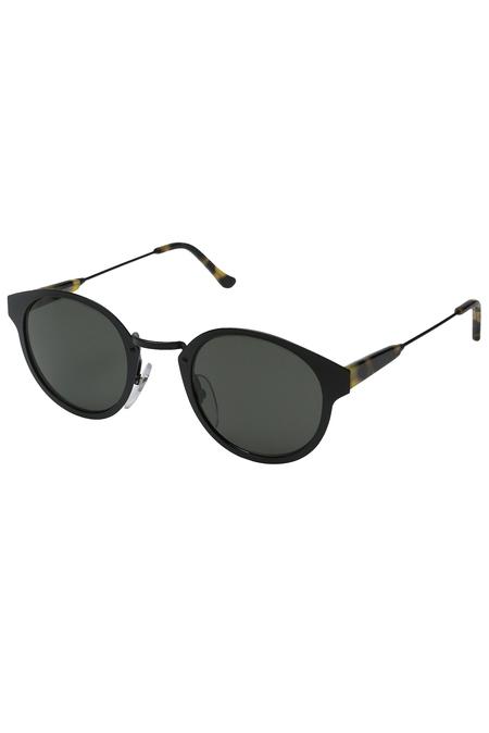RETROSUPERFUTURE Panama Intellect Sunglasses - Black/Tortoise
