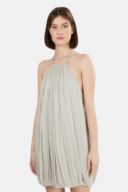 3.1 Phillip Lim Cocoon Dress - Silver Pearl