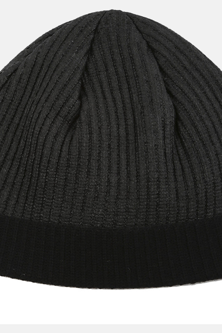 Helmut Lang Coated Knit Beanie - Black
