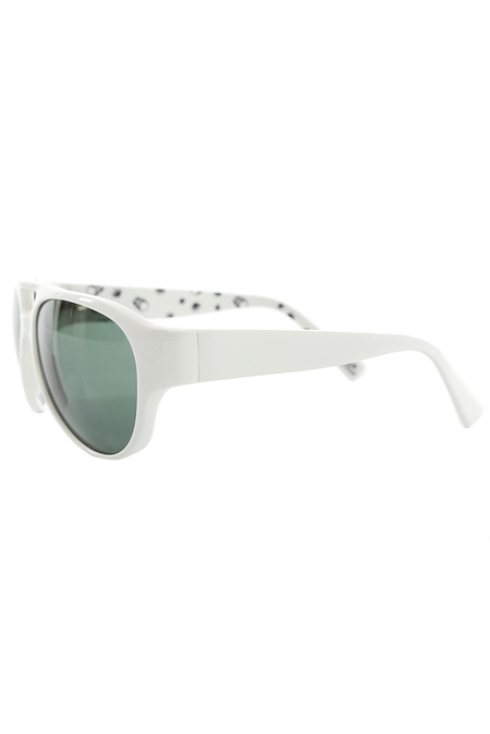 Lucien Pellat Leaf Sunglasses - White