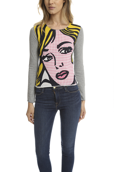 Lucien Pellat-Finet ed Long Sleeve T-Shirt - Print