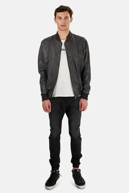 Lucien Pellat-Finet Skull Leather Jacket - Black