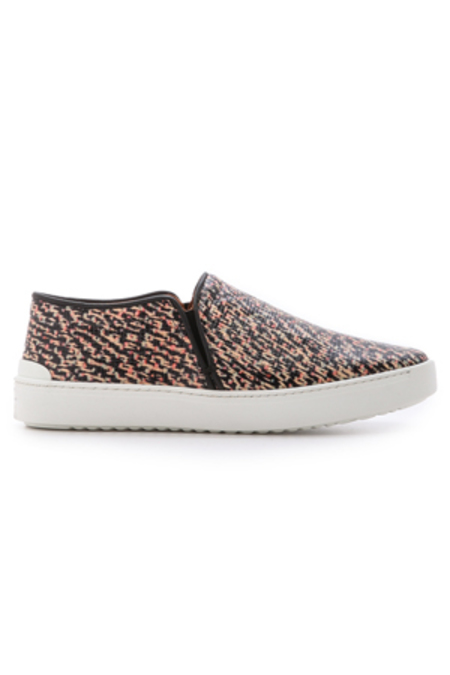 Rag & Bone Kent Slip On Shoes - Tweed Print