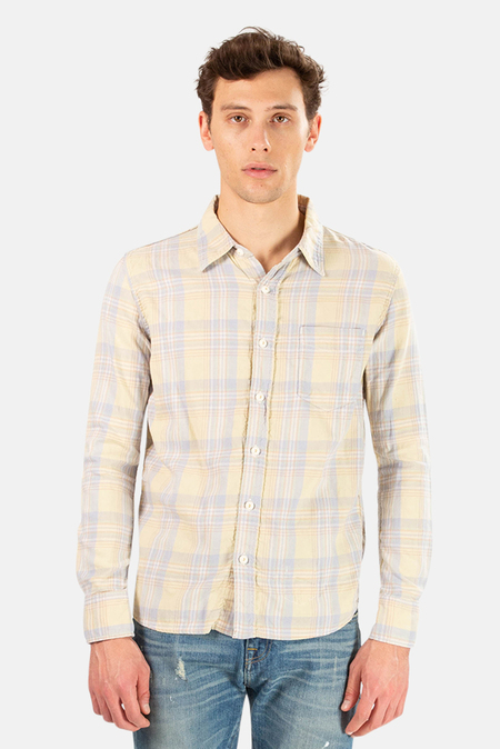 Remi Relief Madras Check Shirt - Yellow
