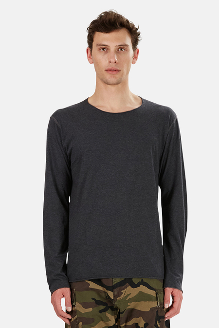 Lucien Pellat-Finet Leaf Derby Long Sleeve Top - Grey/Black