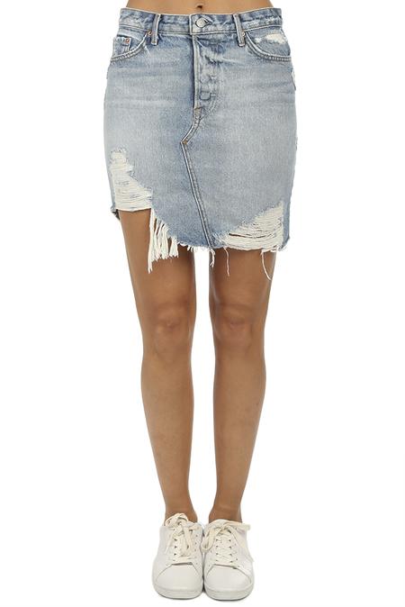 GRLFRND Rhoda Mini Skirt - Lava Bed